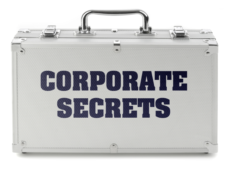 Corporate secrets briefcase pic