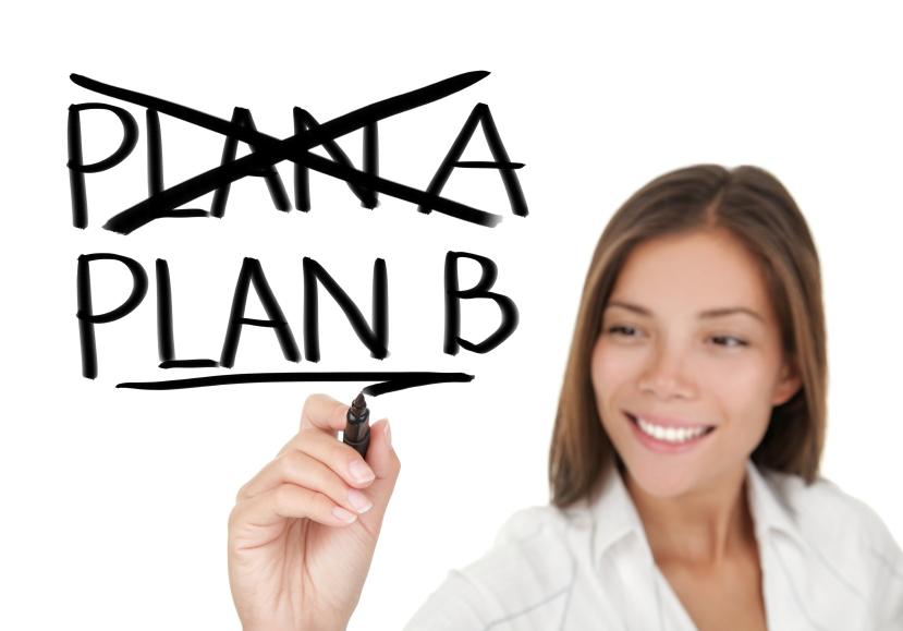 Photo - Change Plan A to Plan B